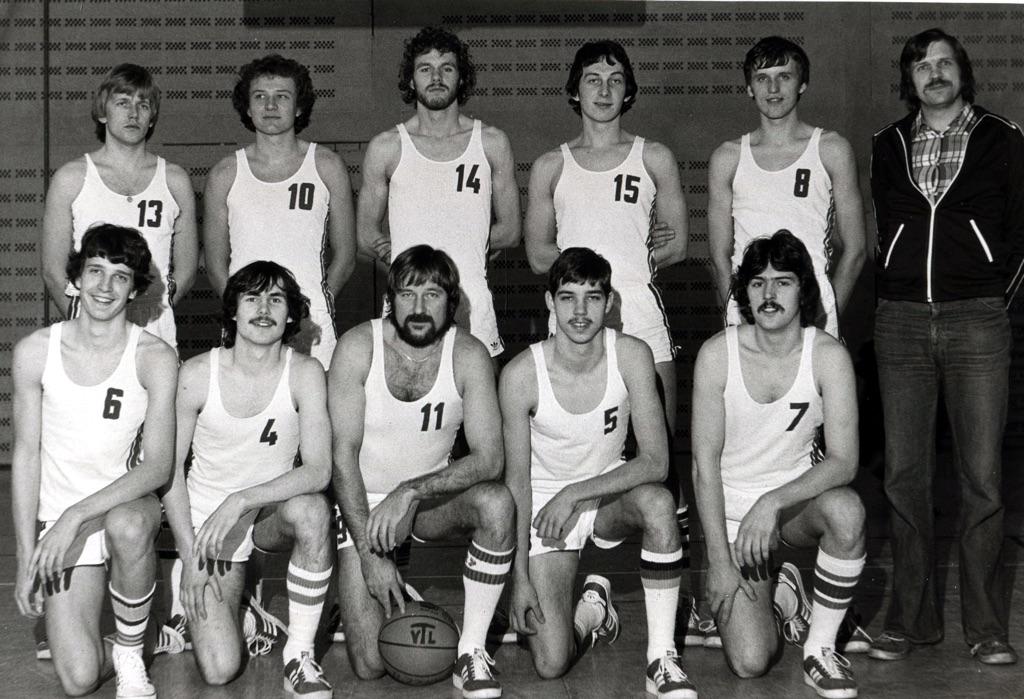 12.Saison 77-78_Foto-1_Die erfolgreichen 1. Herren nach ihrem Bundesliga-Aufstieg 1978.