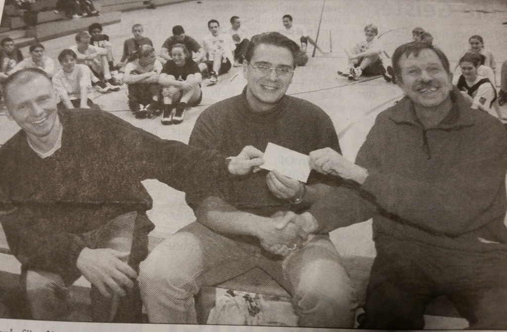 34.-5 Saison, 1999-00, Skyliners-Spende an BTI