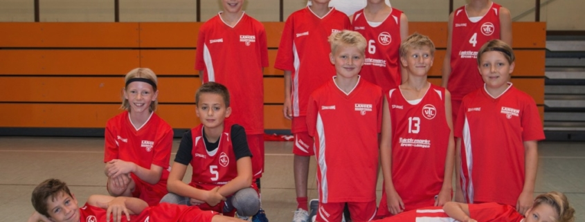 Hochklassiger Jugend-Basketball der U12-Jungen