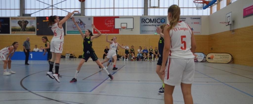 U16-Mädchen starteten mit Sieg