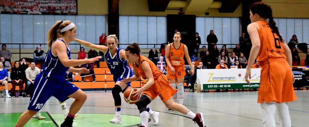 Rhein-Main Baskets gegen den Liga-Favoriten
