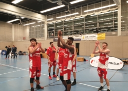 Giraffen gewinnen nur zu 7. In Mannheim
