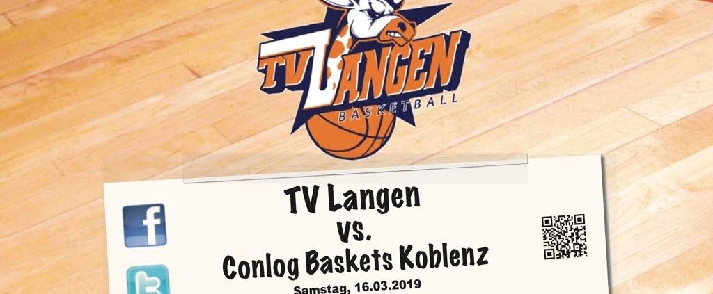 Herren 1 gegen Conlog Baskets Koblenz