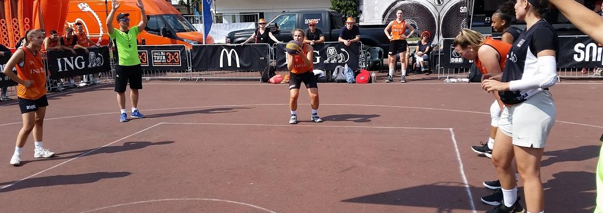 Camp-Leiterin wird Louisa Schmidt sein_hier bei der deutschen 3x3_Meisterschaft