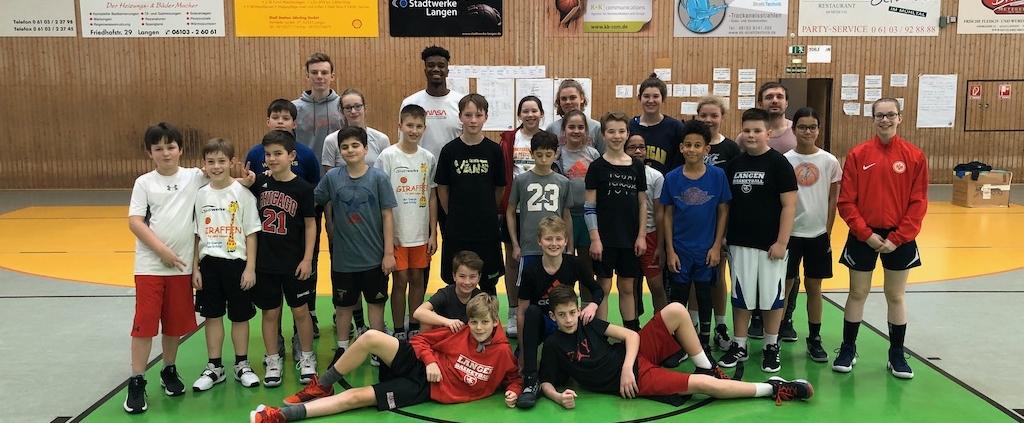 TV Langen startete 2020 mit einem tollen Basketballcamp