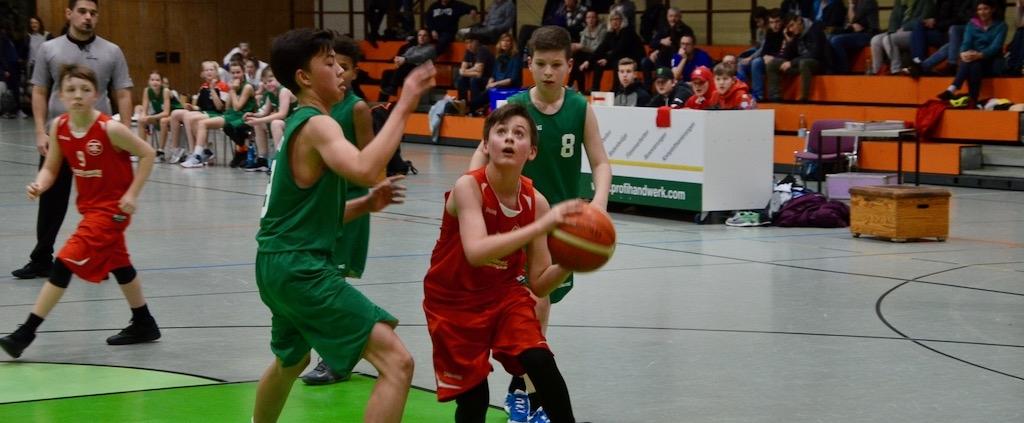 Basketball-Akademie Gießen heute nicht zu besiegen