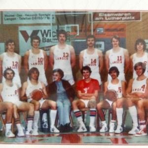 TVL-Herren vor 40 Jahren erstmals in der 1. Bundesliga